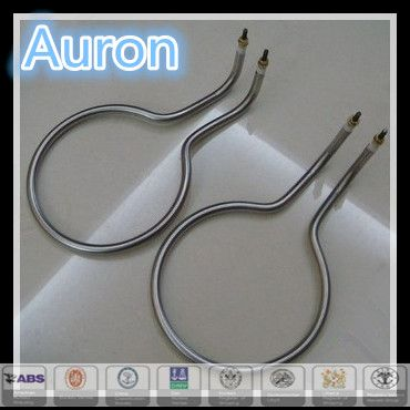 AURON/HEATWELL electric stainless steel air conditioner finned heater parts/air conditioner fin heat element/air conditioner heat tube coil