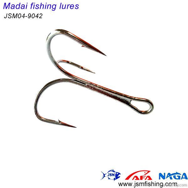 420 stainless steel treble fishing hook