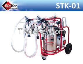 portable milking machine