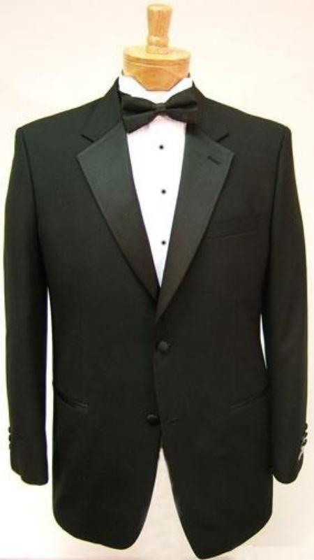 Black 2 Button Tuxedos