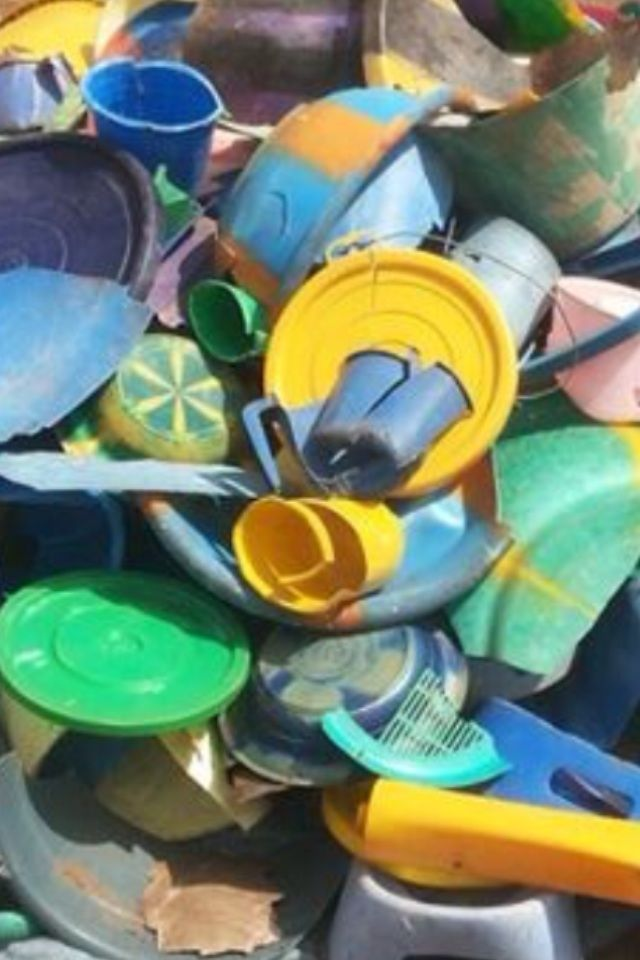 Recycled Plastic, Recycled Metal, Glass and Scrap Carton