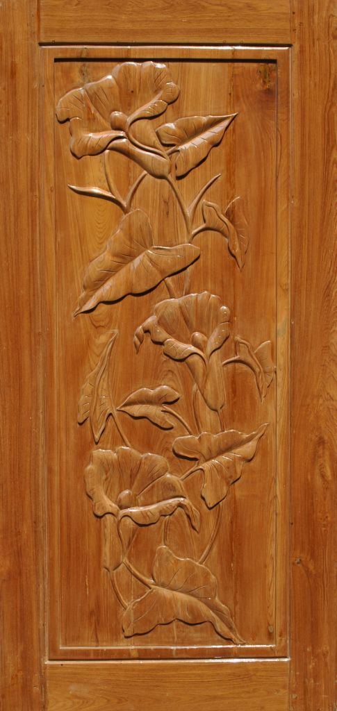 Solid Wooden Decorative Door