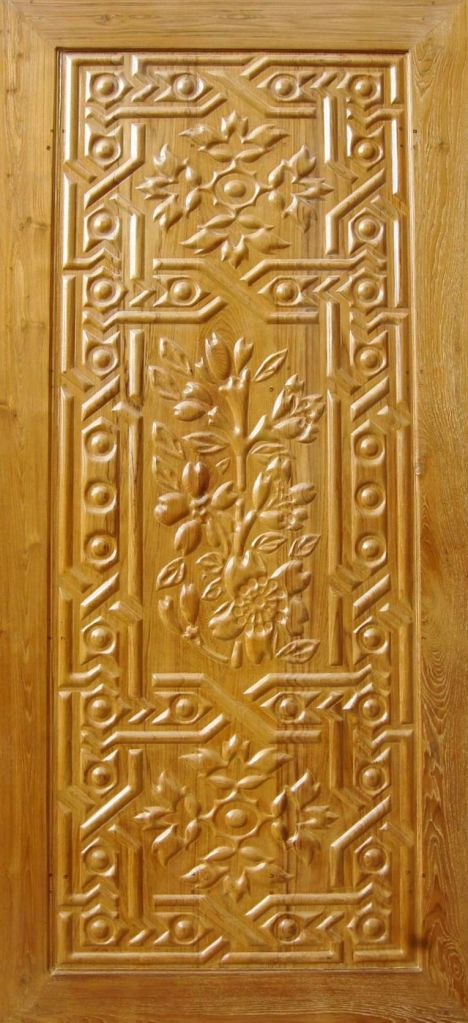 Wooden Carved Doors LED10033