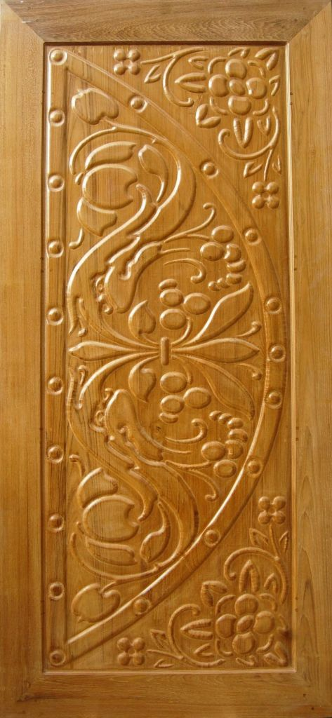 Wooden Carved Doors LED10011