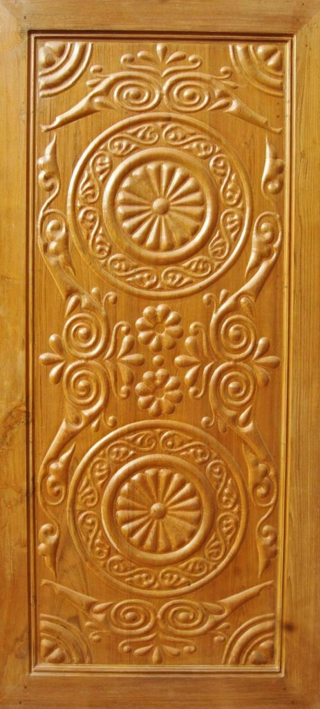 Wooden Carved Doors LED10022