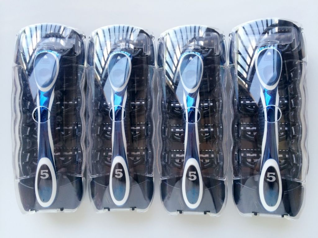 USA Imported Refill/ A381 5Blades +1Percision Razor Alloy Handle