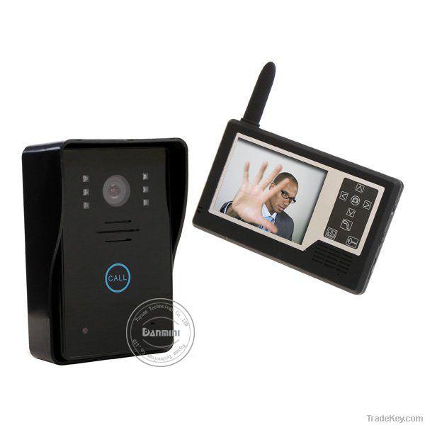 Digital wireless video door phone YB-359MA11