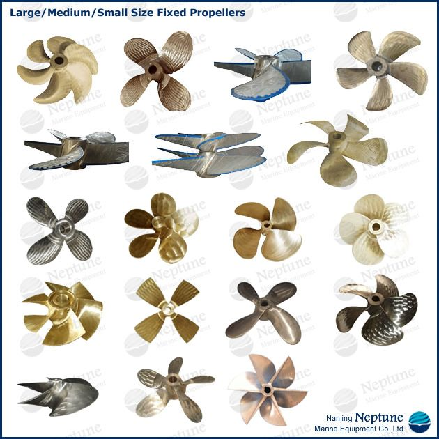 marine ship/boat bronze propeller