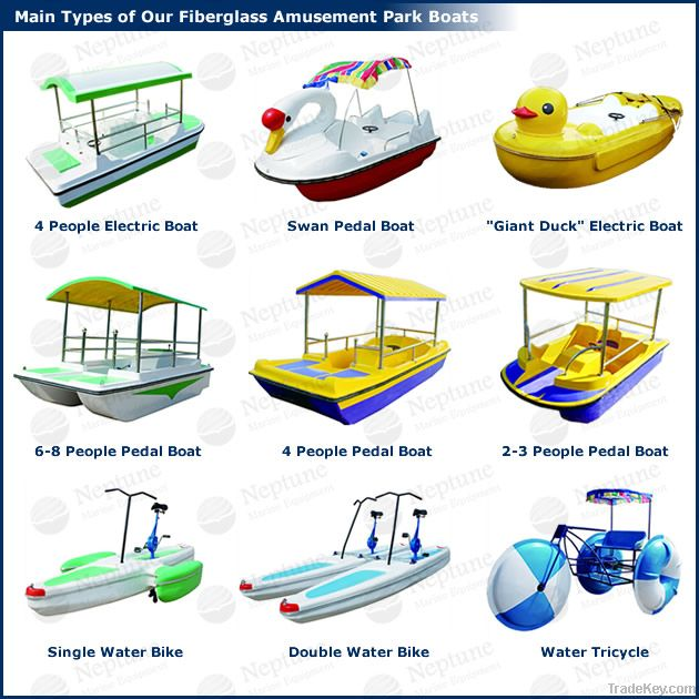 pedal boats, water bikes for sale