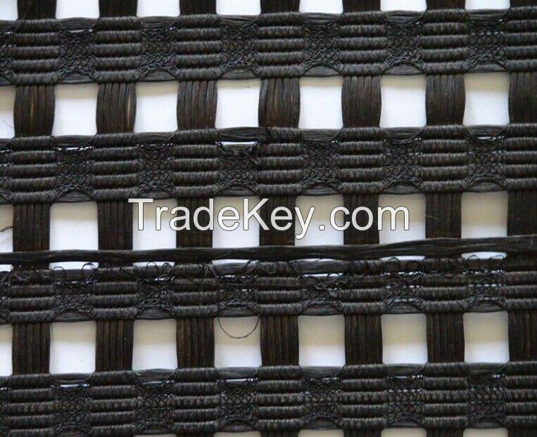 fiberglass geogrids warp knitting polyester geogrids