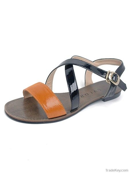 genuine leather handmade women shoes