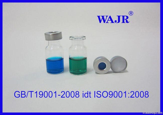 sample vials , headspace vials, lab vial, HPLC vial, silicone septa, pp cap