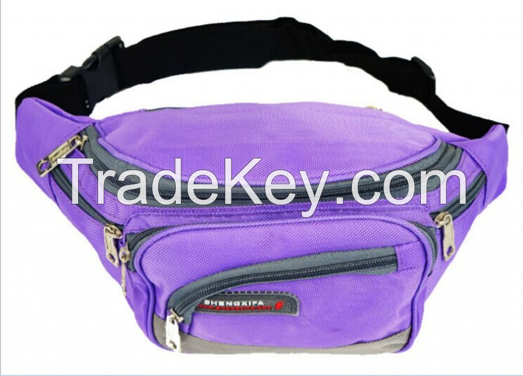 factory price nylon fabric waist bags