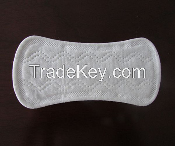 155mm cottony panty liners, disposable panty liners for girls
