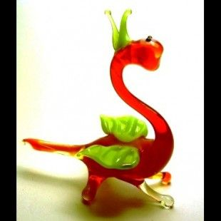 Blown Glass Hand Made Figurines