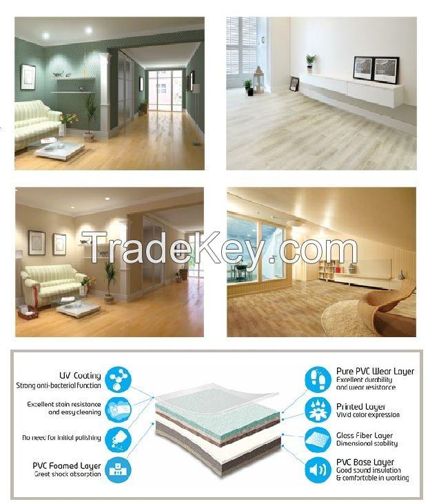 PVC Flooring - Eco Leum - residential flooring