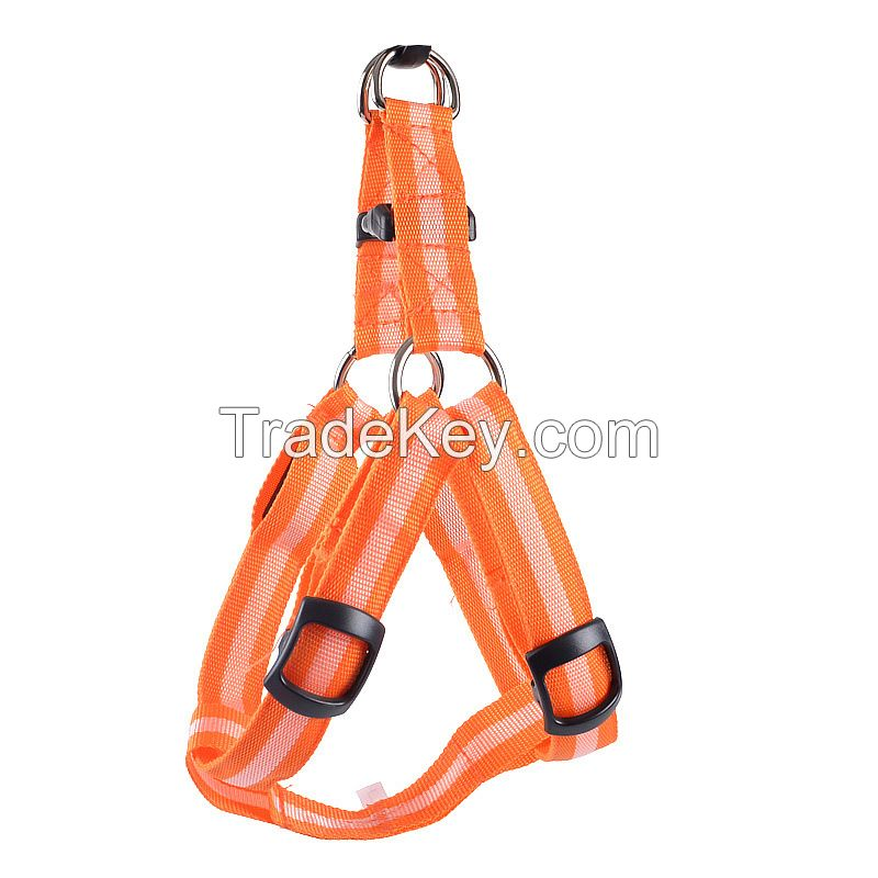 dog accessories safety led dog harness
