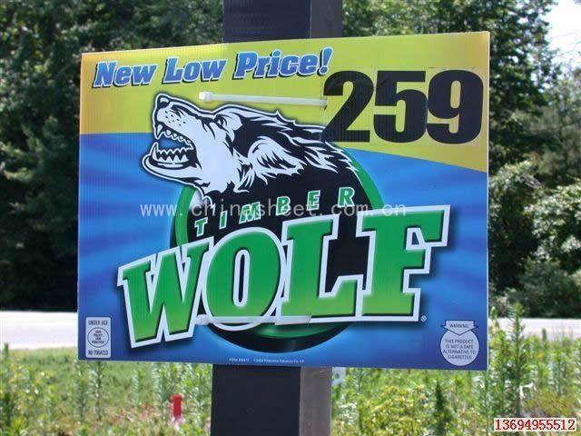 corrugated plastic sheet, advertising board, lawn sign, billboard