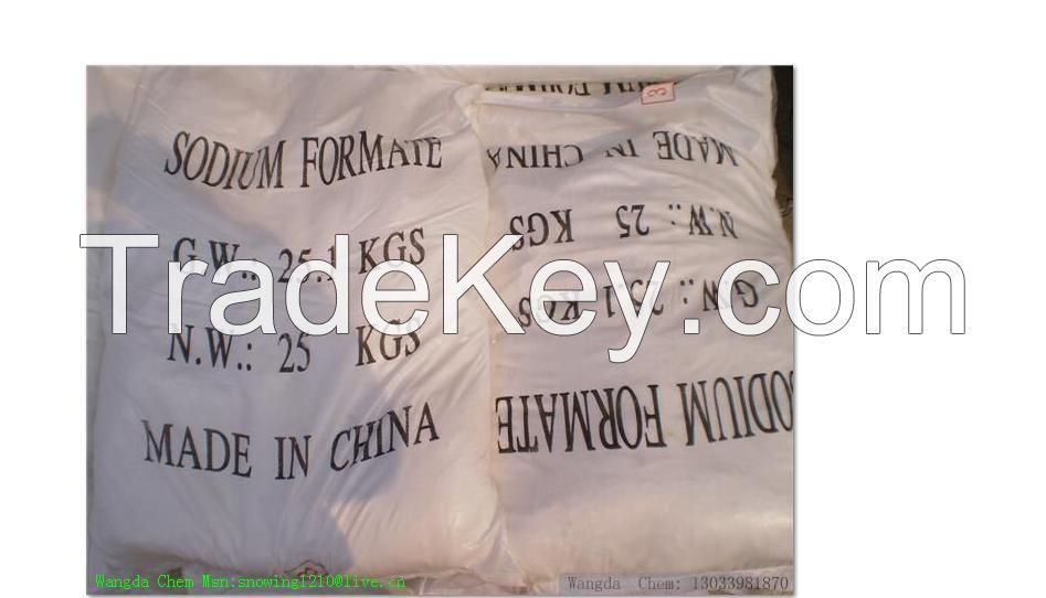 Manufacturer of sodium formate MSDS