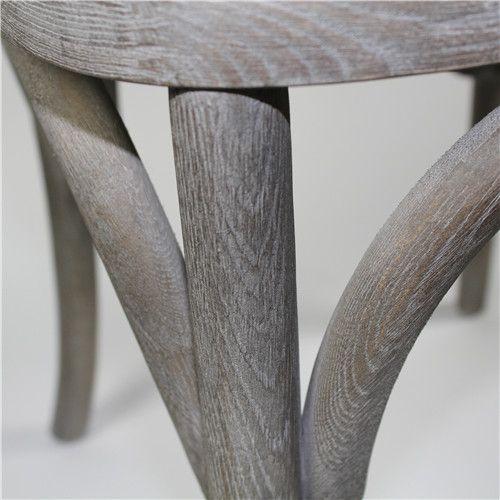 Solid oak Cross back chair
