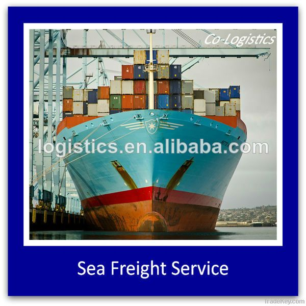 Sea freight to all seaports worldwide---skype:james827313
