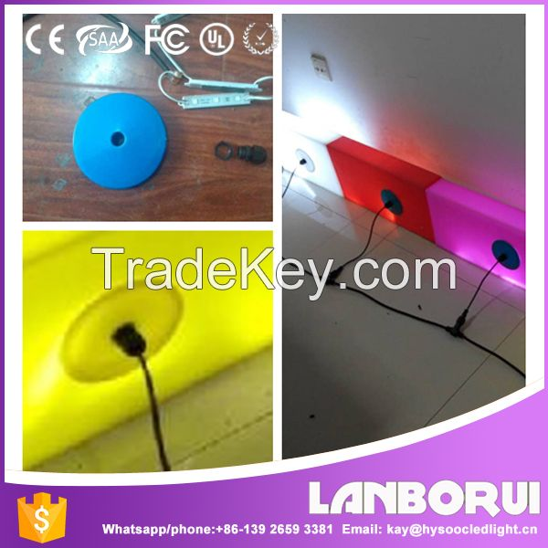 New Design different type outdoor led curbstone light.