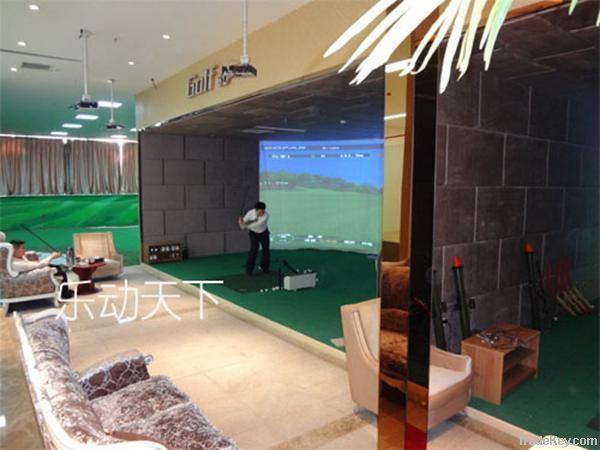 Gopar professional and modern design 3D indoor golf driving range equi