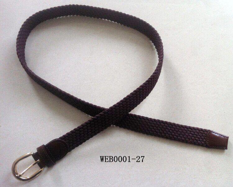 Braided Knitted Woven Elastic Belt
