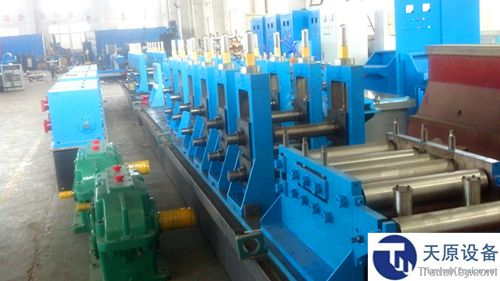 High frequency welding pipe mill