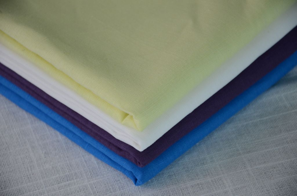 LC317, 55%linen 45%cotton, interwoven piece dyed fabric