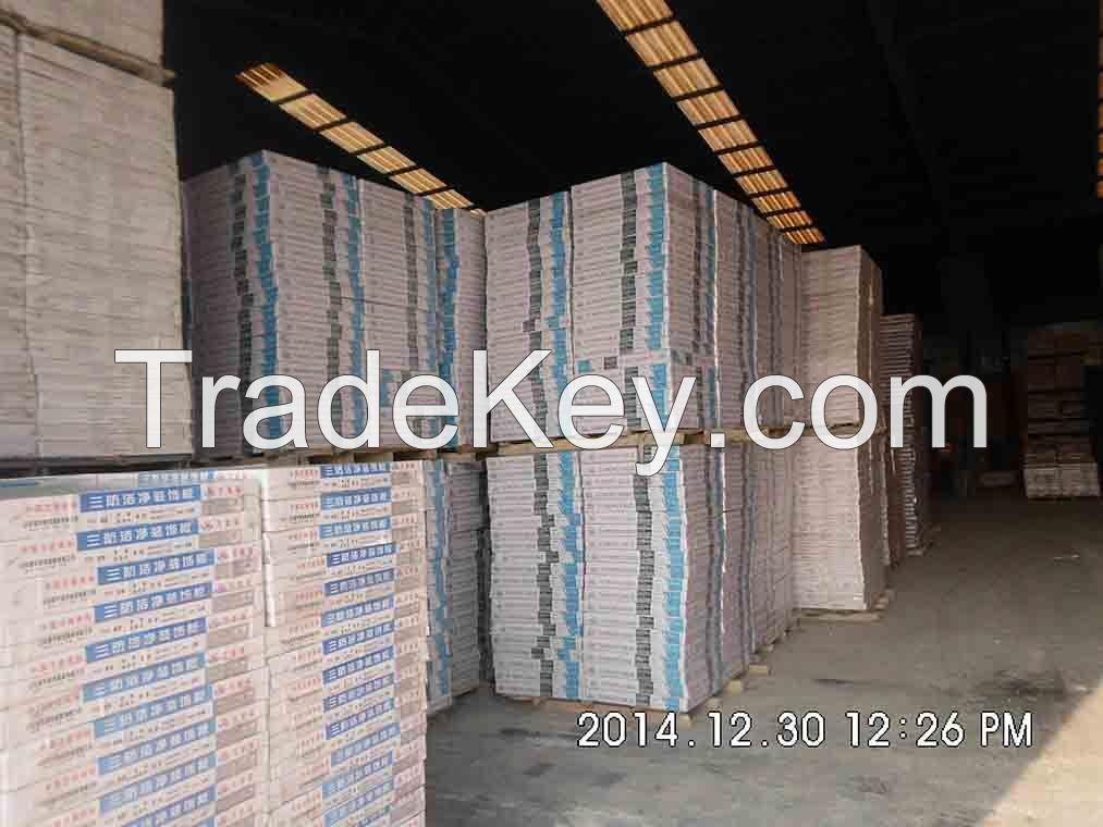 Ceiling PVC Gypsum Ceiling Tile