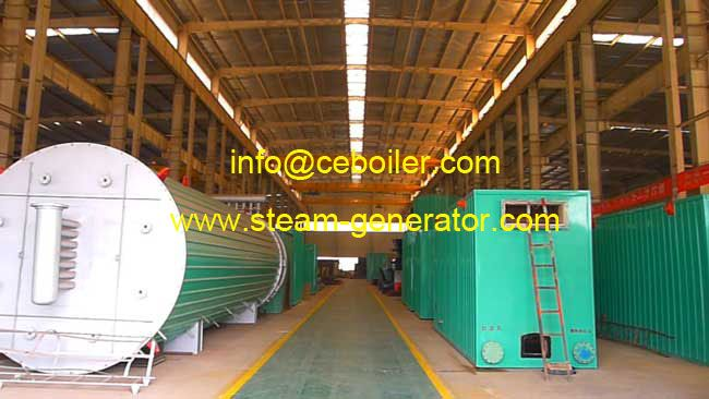 Horizontal Coal Fired Thermal Oil Heaters
