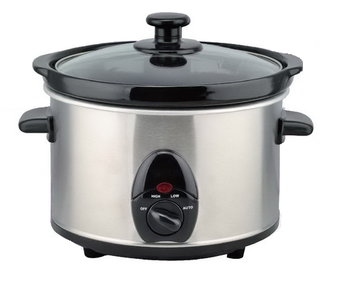 1.5L /Stainless steel slow cooker /cb/ce/rohs/ul certificate