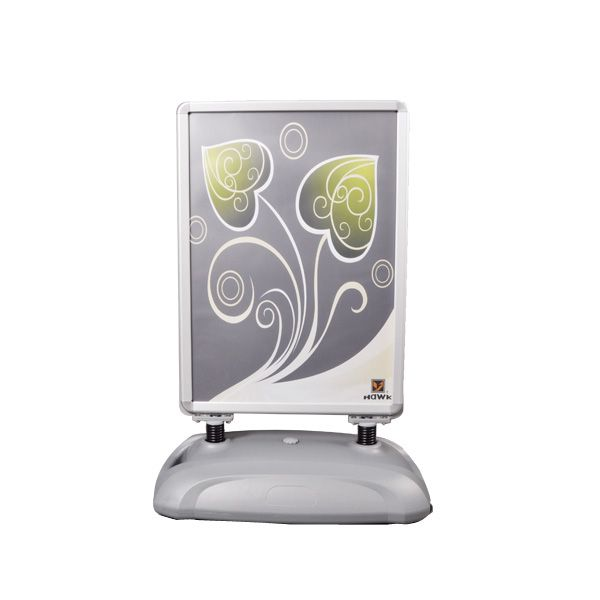 Double sided outdoor poster stand YC-15B1