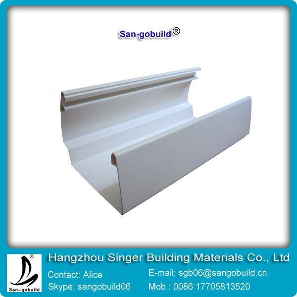 China most professional  PVC rain gutter system  manufacture