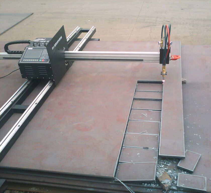 portable cnc plasmer and flame cutting machine