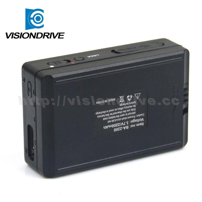 1080P digital dvr police camera mini button DVR with video audio recoder