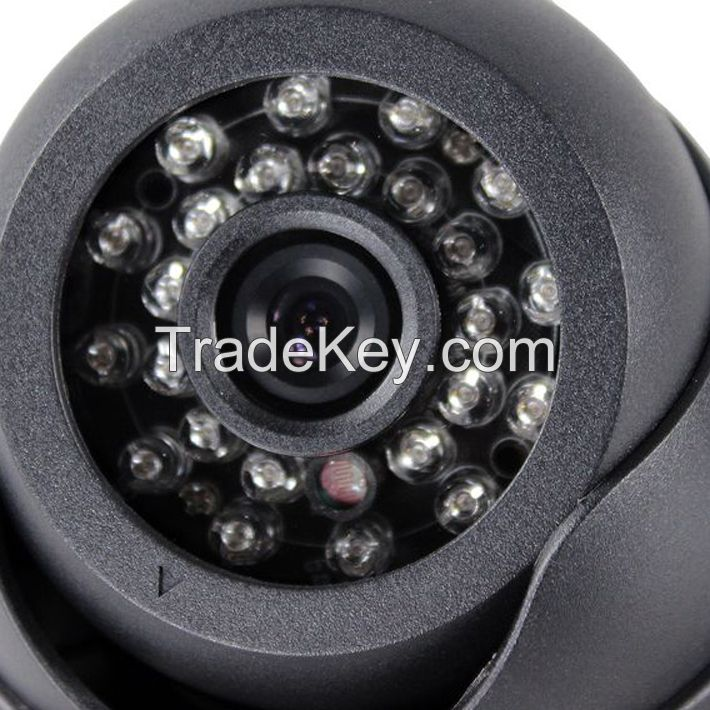 KSAD 802 SD card dome cctv camera support video and audio record indoo