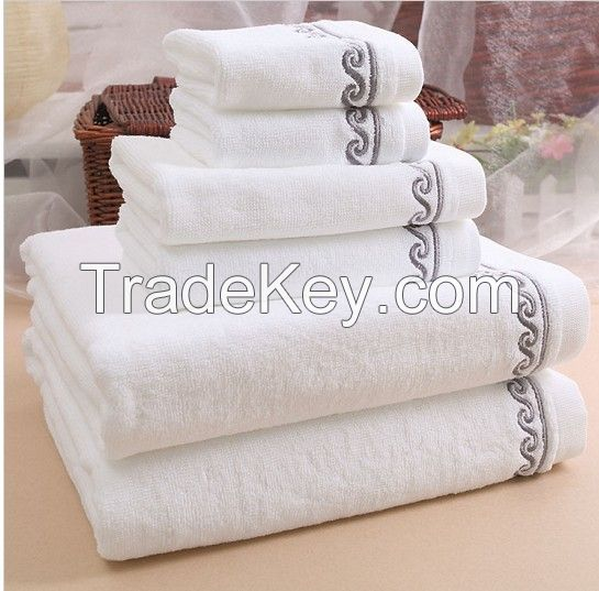 5 Star White Hotel Towel  Set