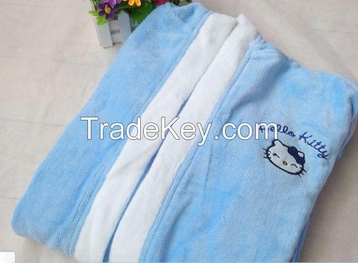 100% Cotton Children Bathrobes