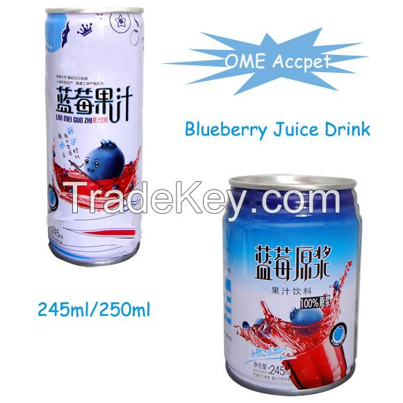 250ml Canned Apple Juice Drink --OME