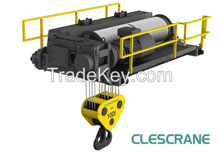 CWD Series Low Headroom Double Girder Overhead Crane