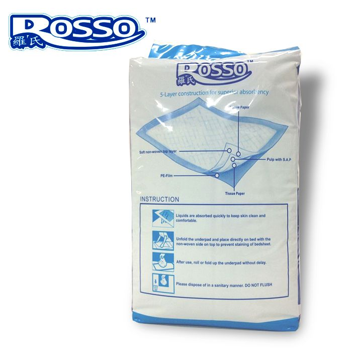 Disposable nursing pad for hospital and home using 60cm*90cm