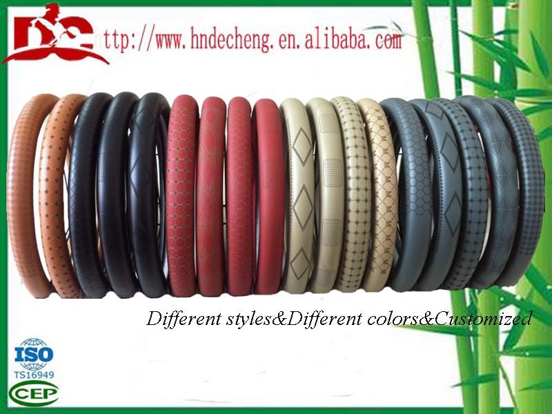 car accessories car steering wheel cover made in China