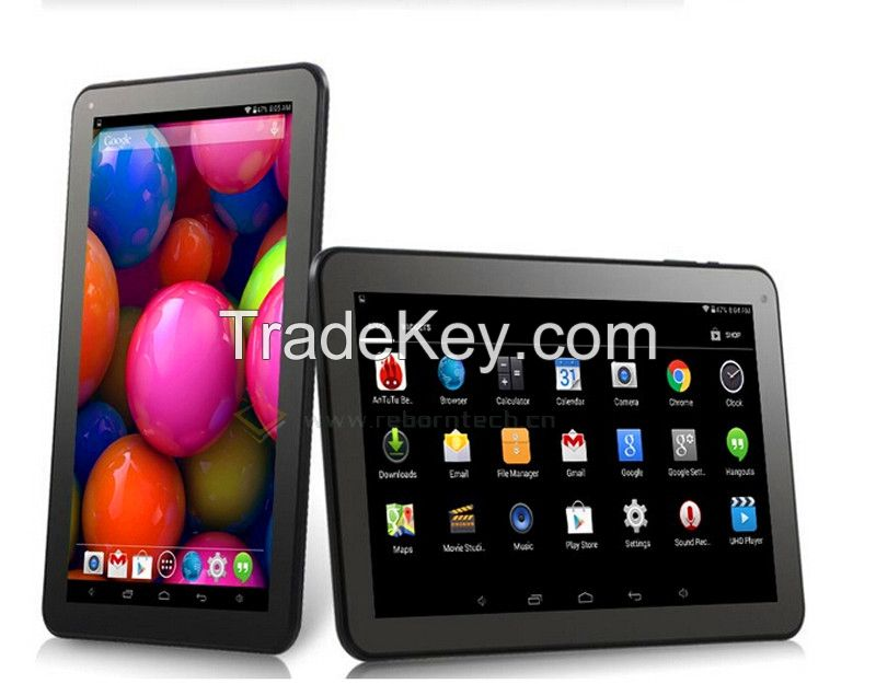 Tablet Android 10 Inch Allwinner A33 1G 8G Quad Core Tablet Android Ta