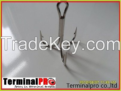 High carbon steel fishing hooks terminal tackles