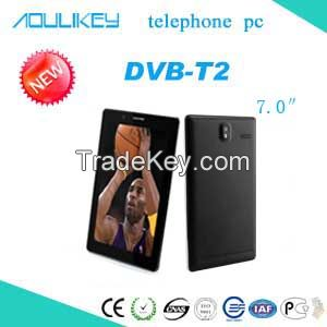 DVB-T2 tablet pc 3G telephone pc Dual SIM and Dual Standby HD digital TV