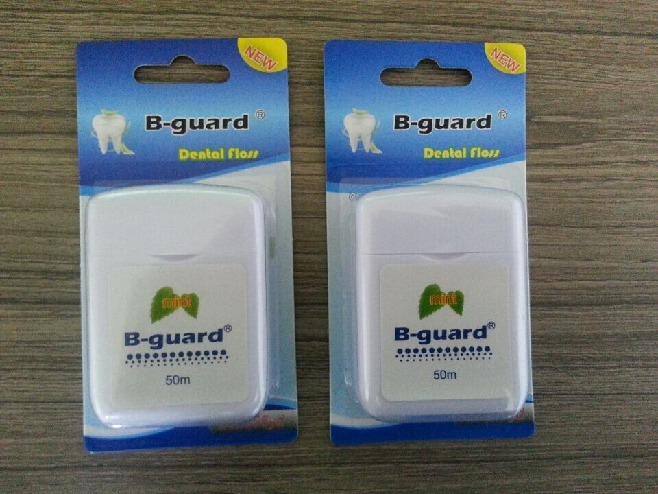 (mints waxed) Dental floss, dental floss pick, interdental brush, tongue cleaner, other plastic products