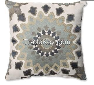 graphic print polyester throw pillow