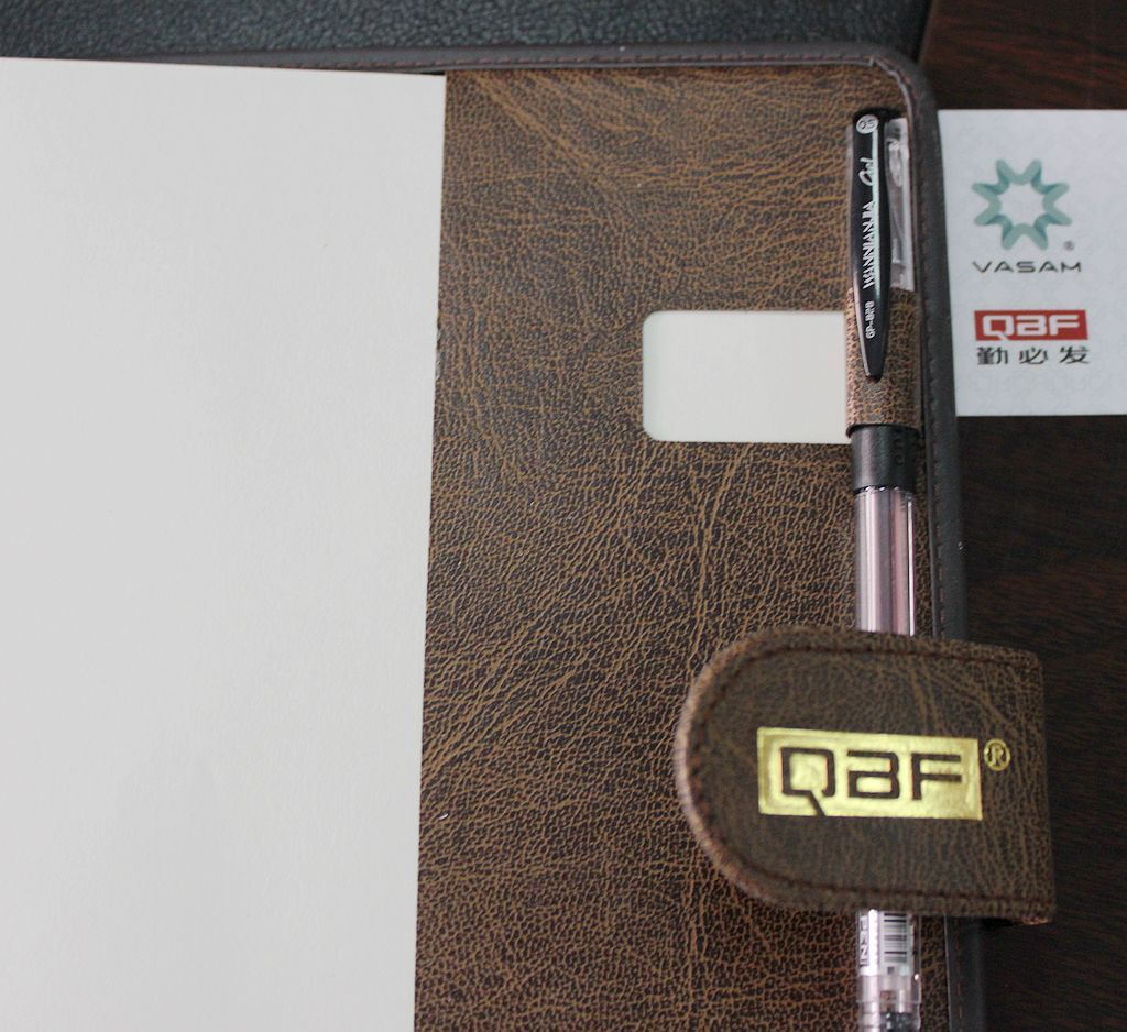 A4 A5 A6 office promotional PU notebook